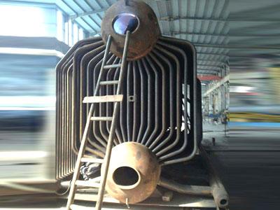 锅炉本体展示